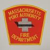 Massachusetts Port Authority Fire Department Patch