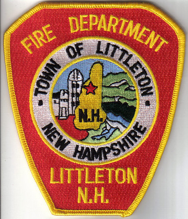 New Hampshire Fire Patches