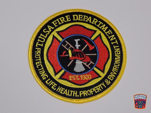 Tulsa Fire Department Patch