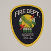 Moore Fire Department Patch