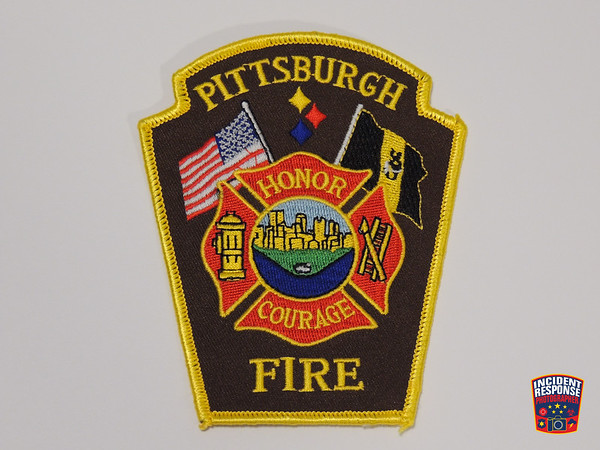 Pittsburgh Fire Department Patch