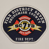 Snohomish County Fire District 7 Patch