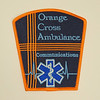 Orange Cross Ambulance Communications Patch