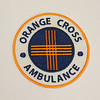 Orange Cross Ambulance Patch