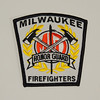 Milwaukee Fire Department Honor Guard Patch