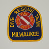 Milwaukee Fire Department Dive Rescue Team Patch