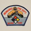 Milwaukee Fire Department HAZMAT Team Patch
