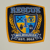 Milwaukee Fire Department Rescue 1 Patch
