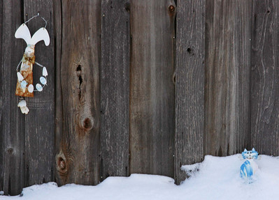 Fence Art Critters