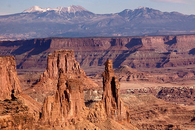 Canyonlands, LaSal mountains