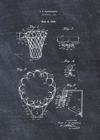 Basketball Goal 1936
