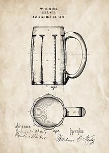 Beer Mug 1876