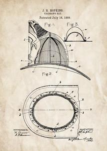 Fireman's Hat 1889