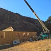 Roof trusses delivered to 4 bedroom house near Okanogan
