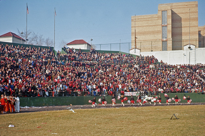 Hinchliffe Stadium - Thanksgiving Day 1965