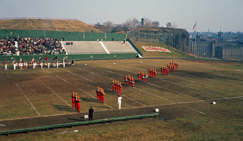 Halftime at Hinchliffe Stadium - Thanksgiving Day - 1965