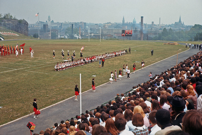 J.F.K. Pep Rally - Hinchliffe Stadium - September 24, 1965