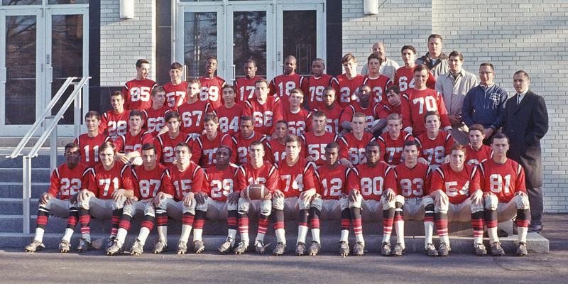 J.F.K. Football Team - 1965.