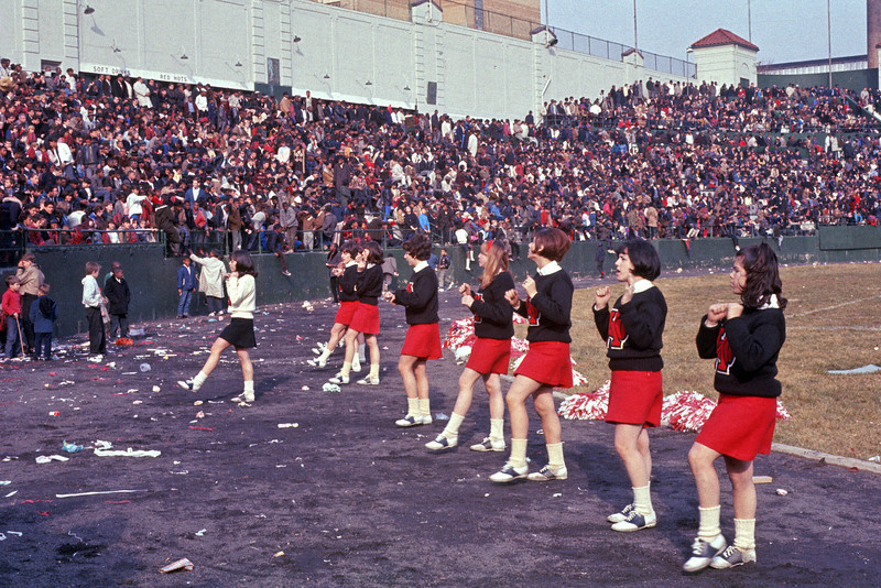 J.F.K. Cheerleaders - Hinchliffe Stadium - Thanksgiving Day 1965
