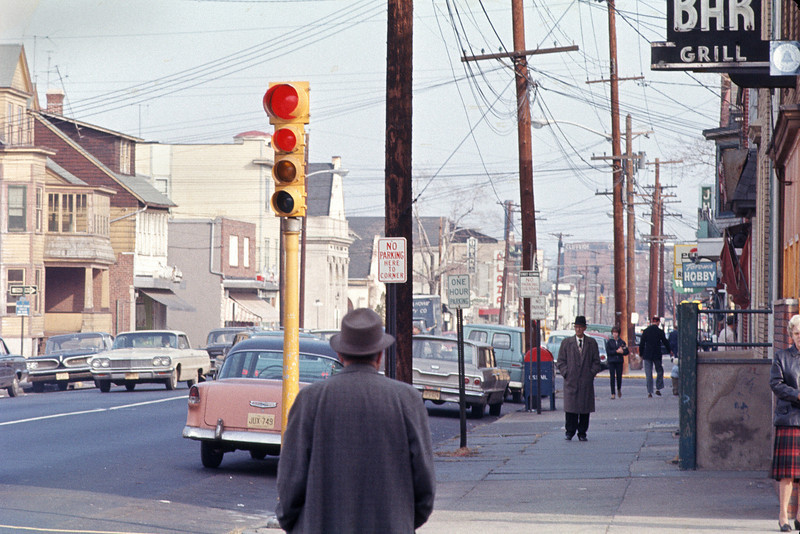 Union Avenue looking northeast from Wayne Avenue - 1965