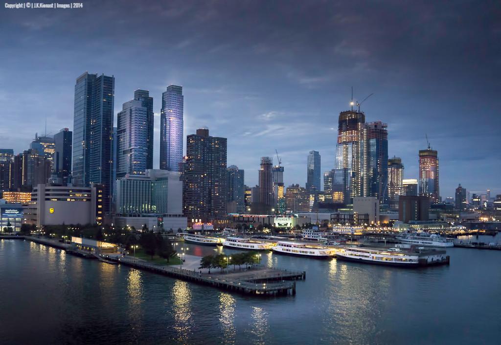 New York Harbor Final docking
