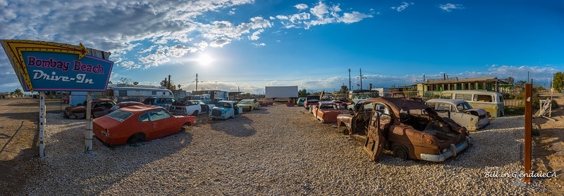 Bombay Beach Drive-In.