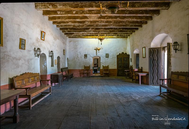 Reception room.