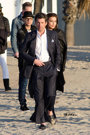 Patrick Dempsey seen in Venice