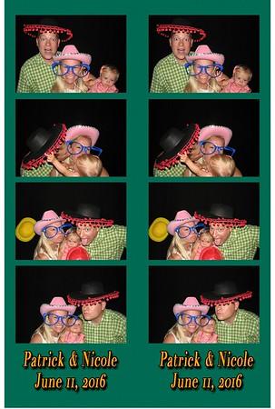 Patrick & Nicole's Wedding 6-11-16