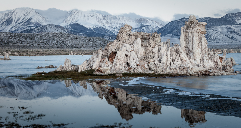 Mono Lake winter scene