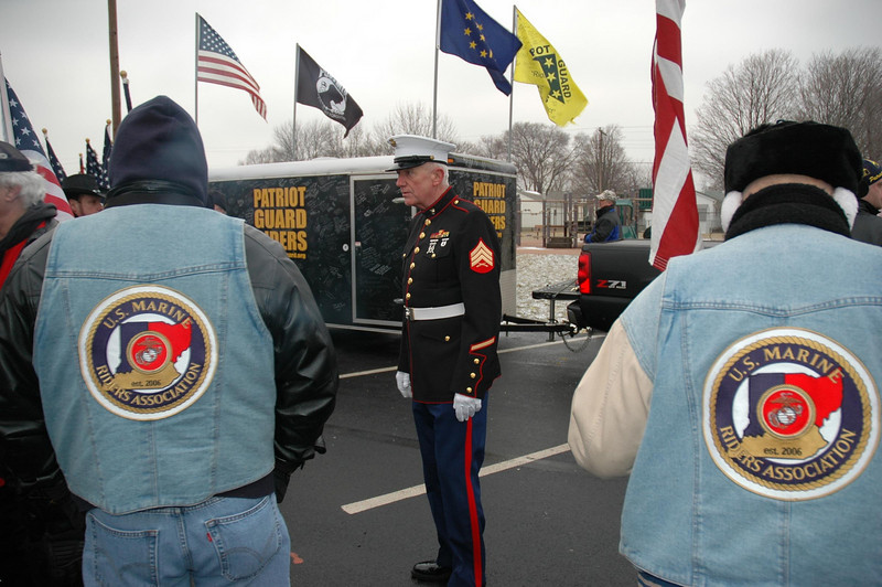 A seasoned Marine is asked to take the point.