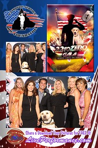 Patriotic Service Dog Foundation Gala 10/22/16 - EYE Photo Booth Photo Cards