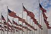 U.S. Flags, Filmore County, Minnesota