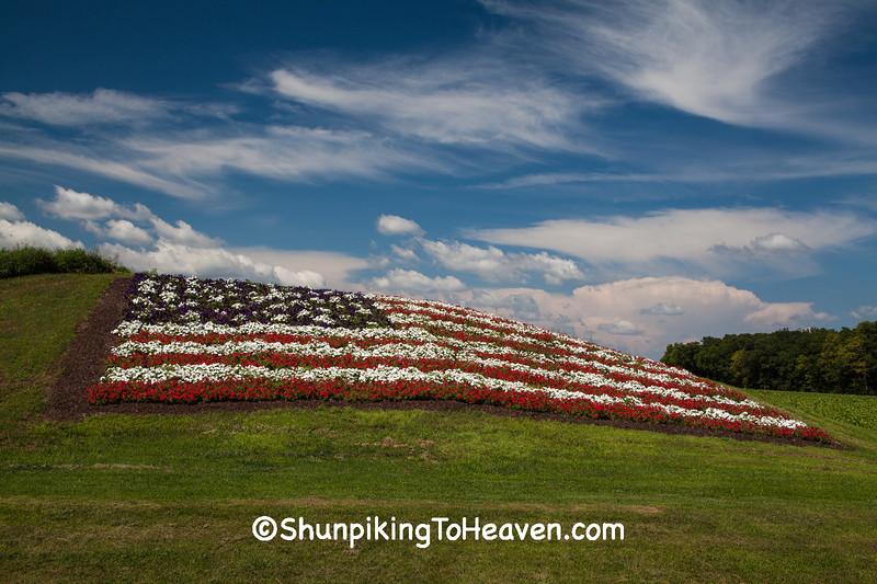 Flag of Flowers, Sauk County, Wisconsin