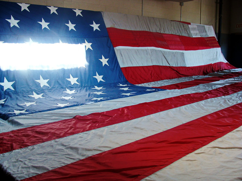 September 11th Memorial Flag