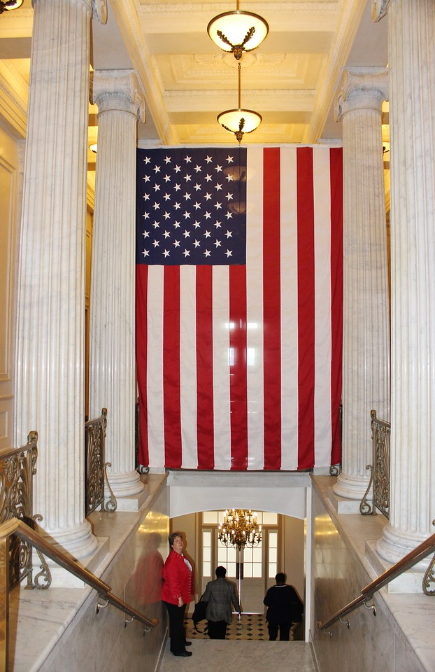 Flag in the Capitol