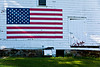 Patriotic Barn, Jackson County, Wisconsin