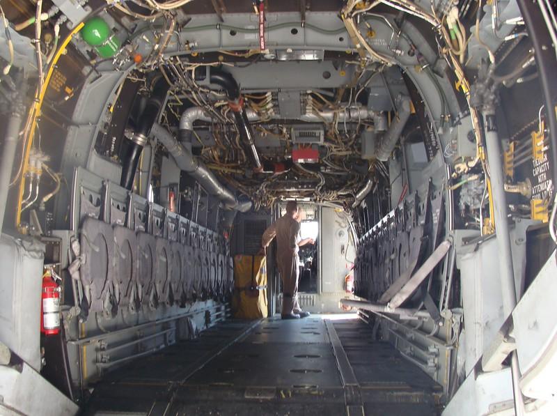 Osprey Interior