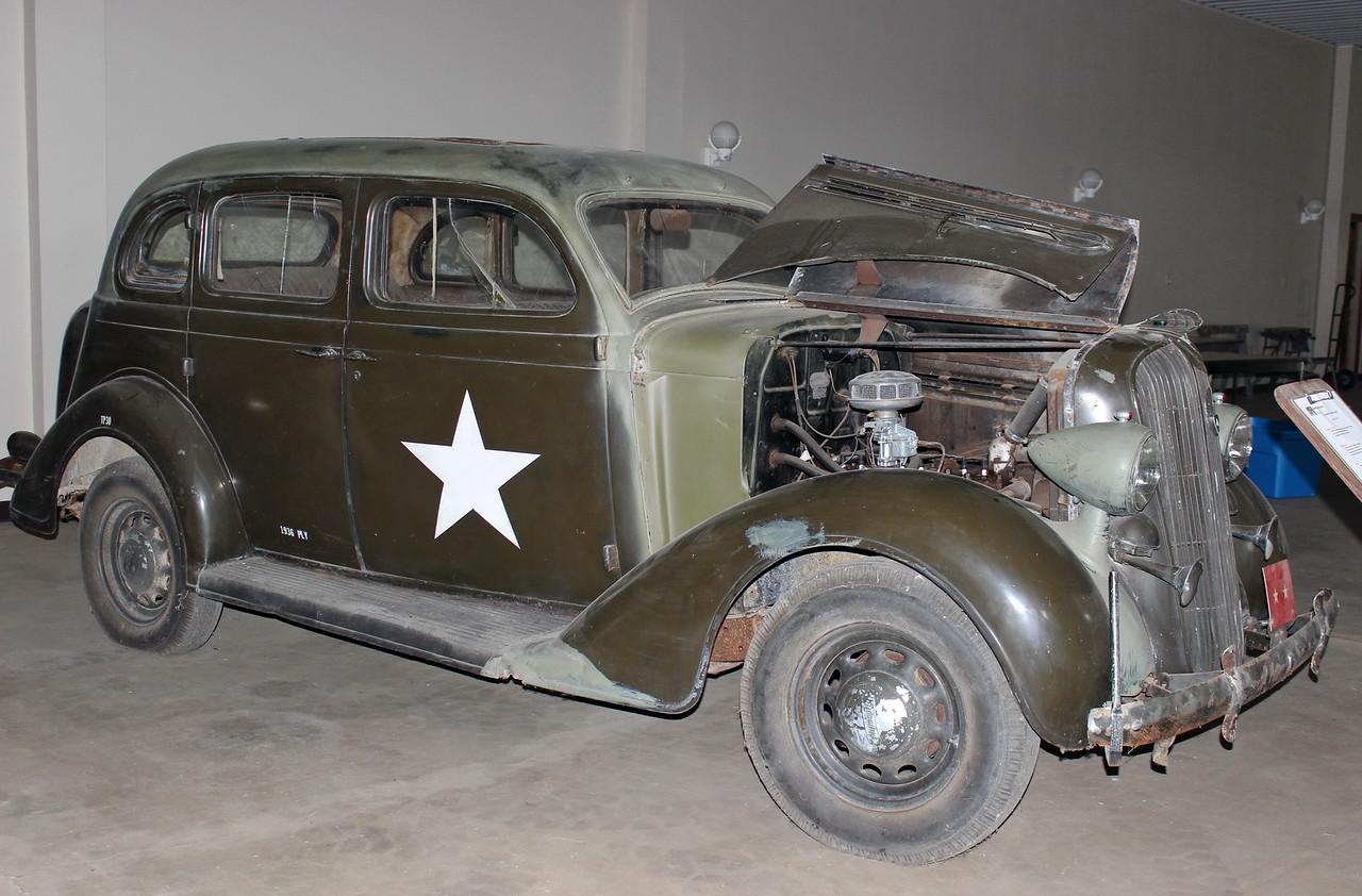 Army Staff Car