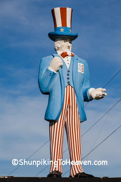 Uncle Sam Statue, Paulding County, Ohio