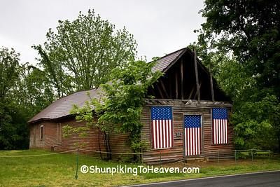 Patriotic Farm Building, Guilford County, North Carolina