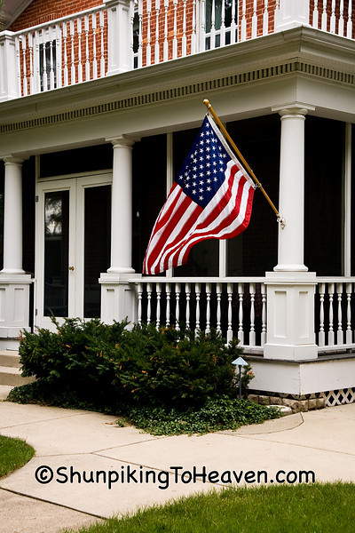 """For Teddy"", Flag Flown in Honor of Senator Ted Kennedy, Dane County, Wisconsin"