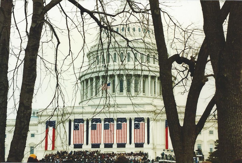 The Capitol on Inauguration Day