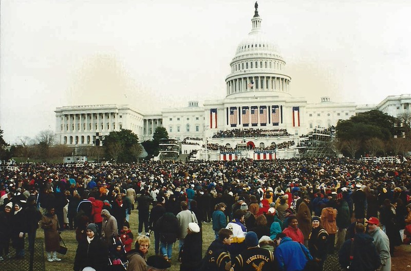 Presidential Inauguration at the Capitol