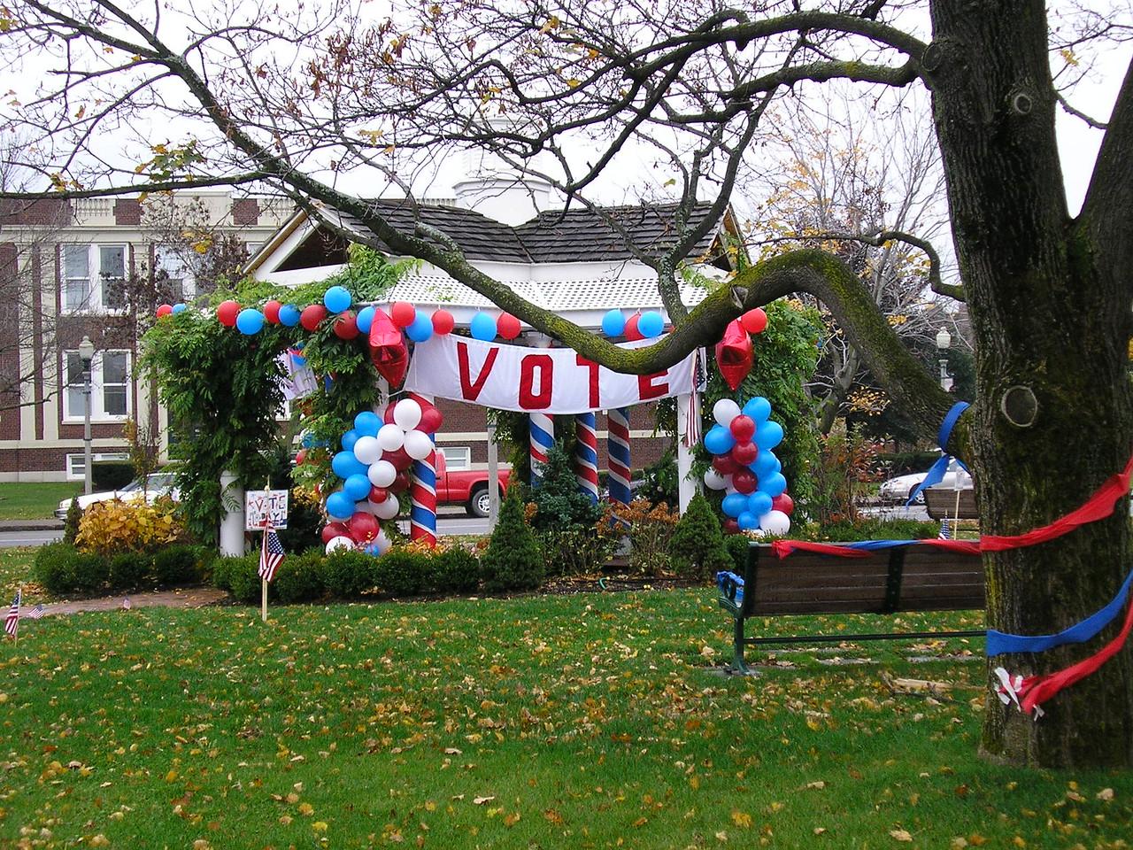 Election Day at Twelve Corners Memorial Park
