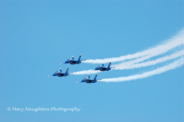 Blue Angels, Annapolis Air Show, May, 2007