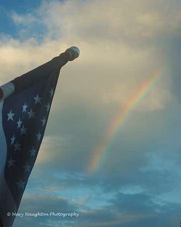 Rainbow & Old Glory