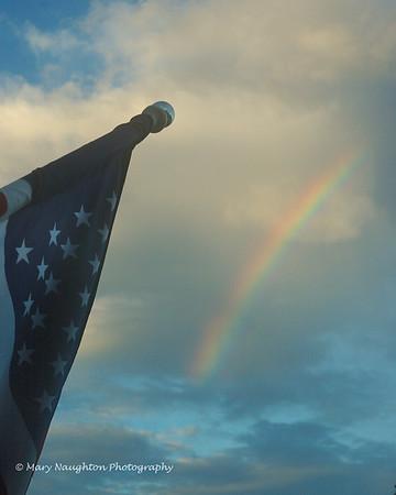 Rainbow & Old Glory