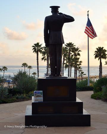 Marine Memorial, San Clemente, CA