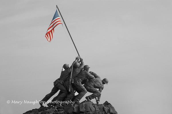 Marine Corps Memorial, Arlington, VA